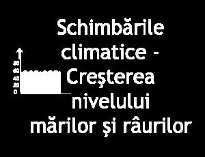 Schimbările climatice - Creşterea nivelului mărilor şi râurilor (pictură)